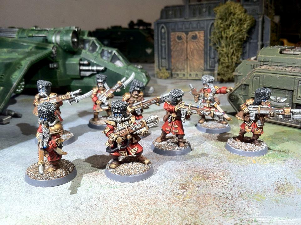 Born, Dirt, Finished, First, First Born, First-born, Firstborn, Imperial Guard, Painted, Vostroyan