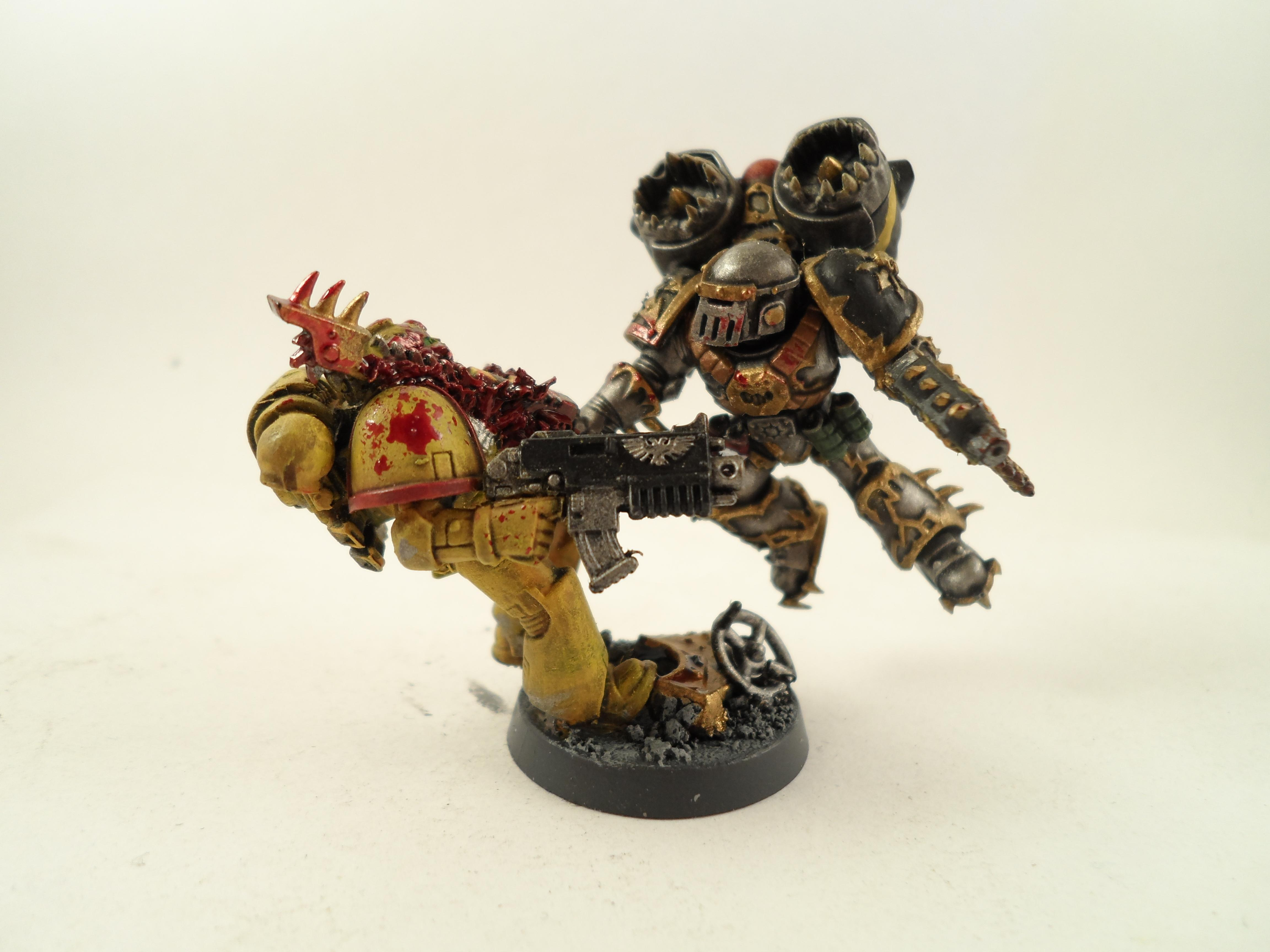 Chaos, Chaos Space Marines, Hammer Of Wrath, Iron Warriors, Raptors, Siege