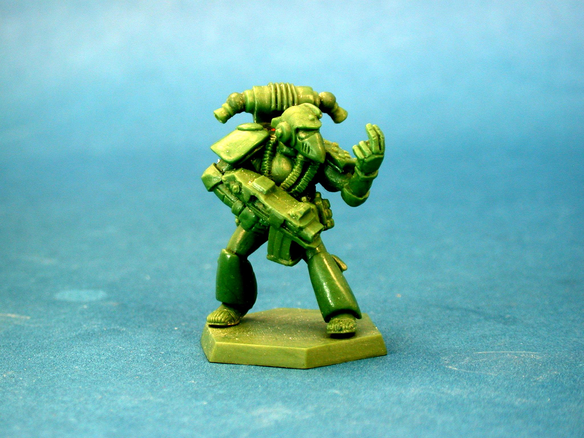Greenstuff, Pose, Rouge Trader, Space Marines