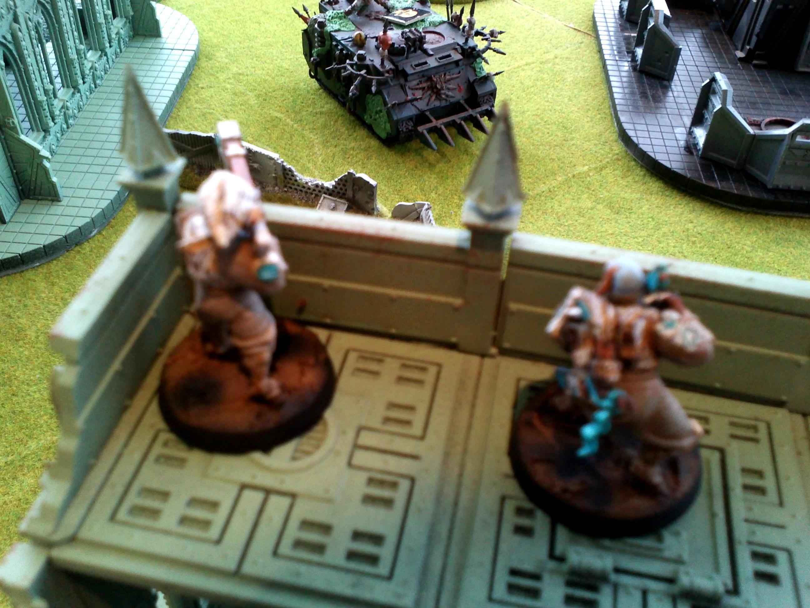 Battle Report, Death Guard, Kill Team, Space Marines, Tau, Warhammer 40,000