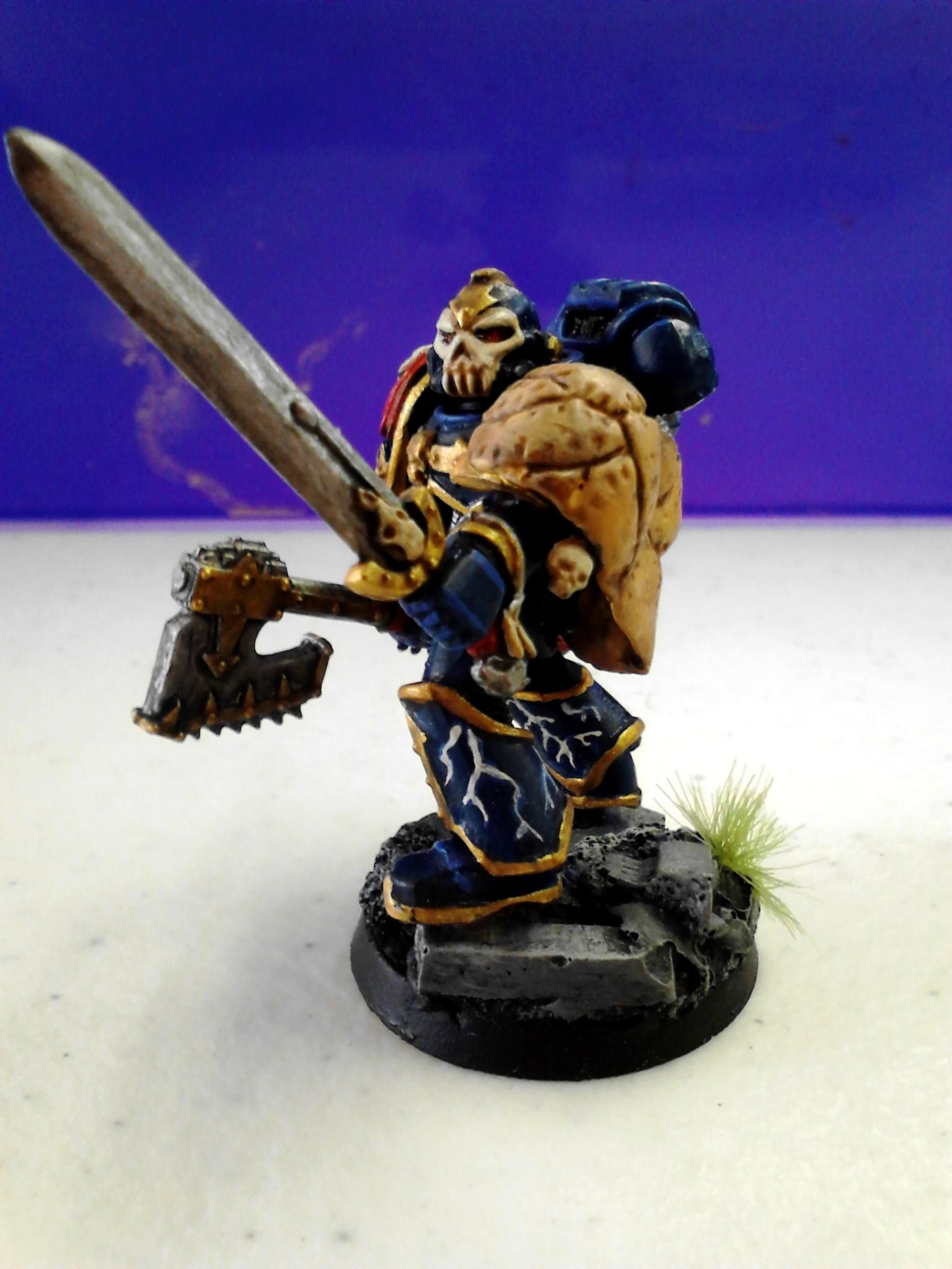 First Claw, Night Lords, Uzas