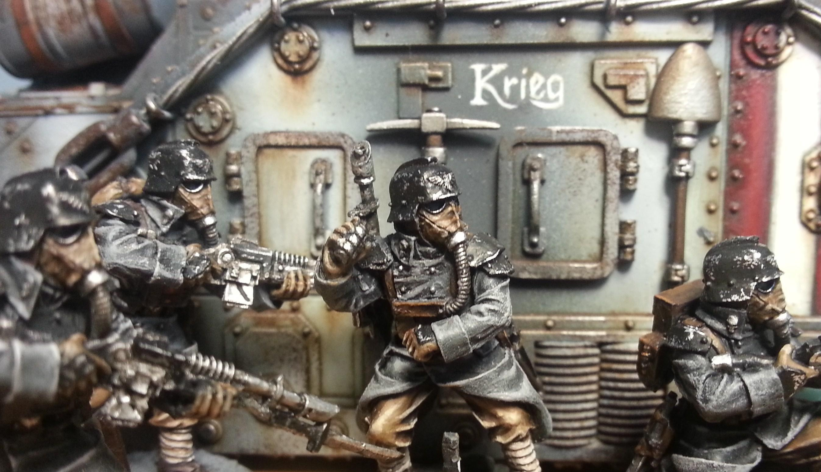Death Korps of Krieg, Forge World, Guardsmen, Imperial Guard, Lasgun, Leman Russ, Warhammer 40,000