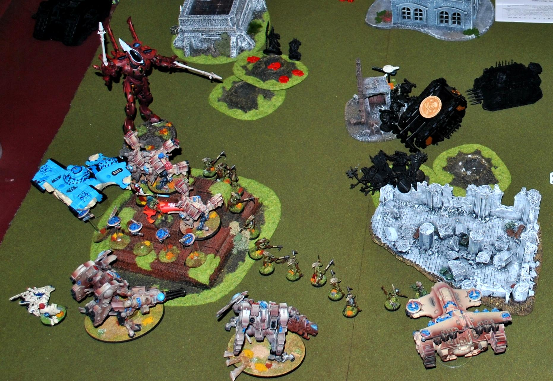 Battle Report, Chaos Space Marines, Taudar
