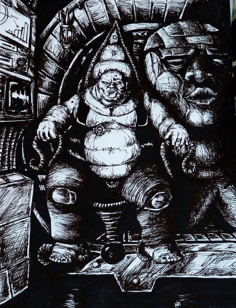 Drawings, Dune, Harkonnen, Metal Works, Paintings, Vladimir