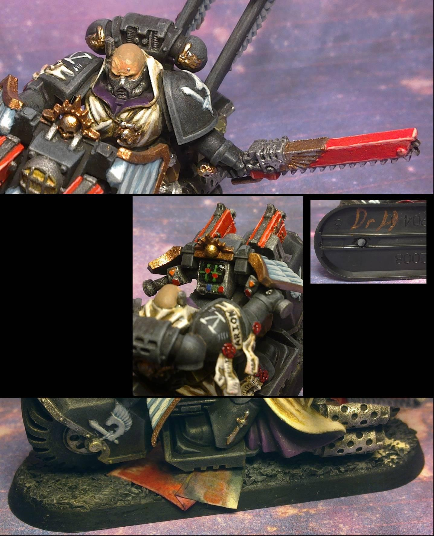 Dark Vengeance Ravenwing Sergeant Arion close-ups