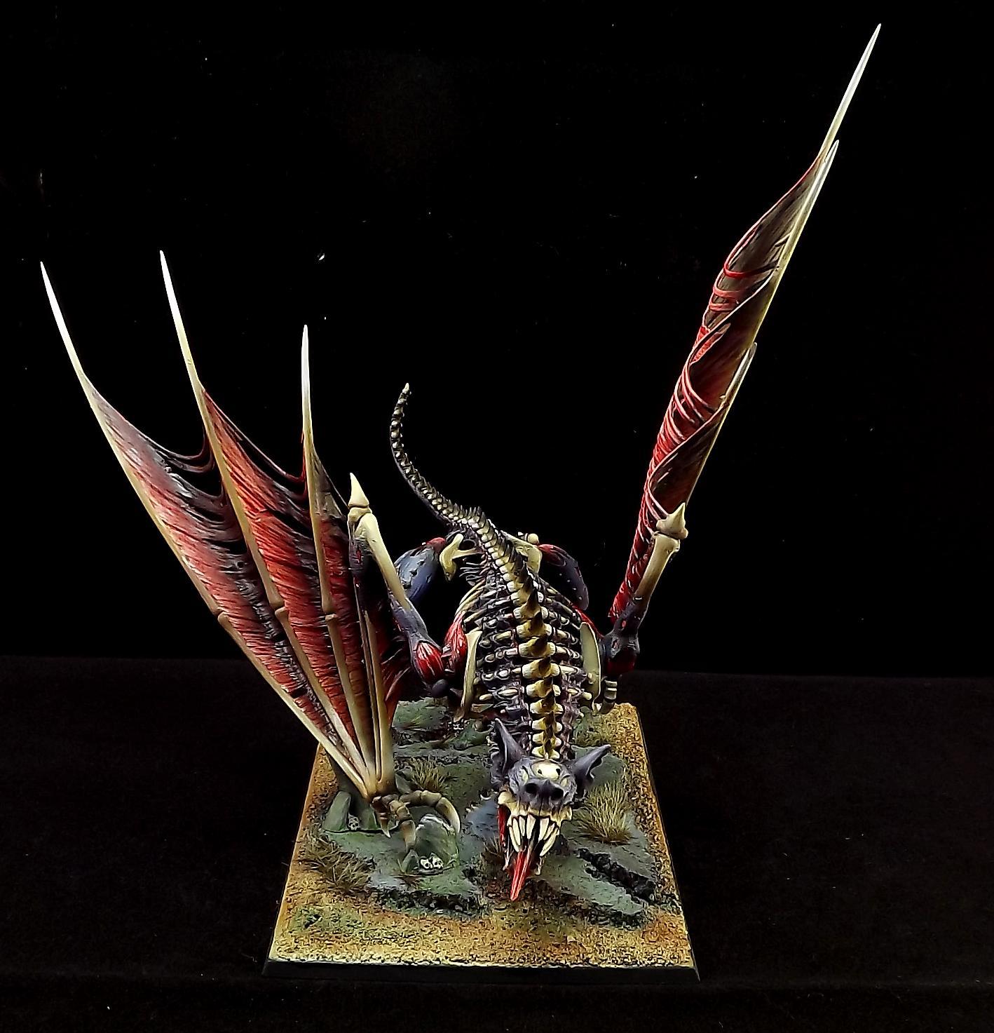 Battle, Swamp, Terrorgheist, Vampires Count, Warhammer Fantasy