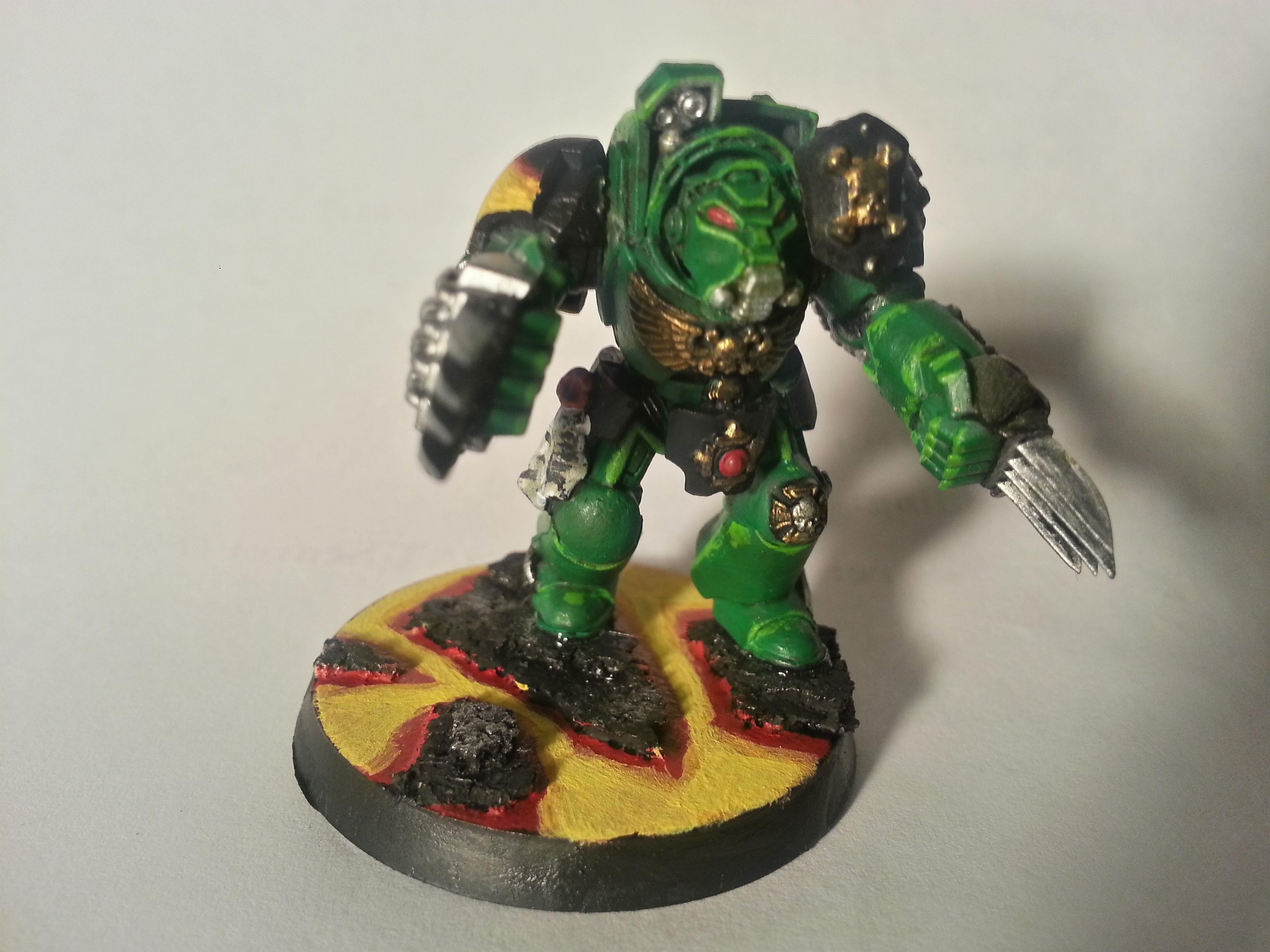 Assault, Salamander, Terminator Armor