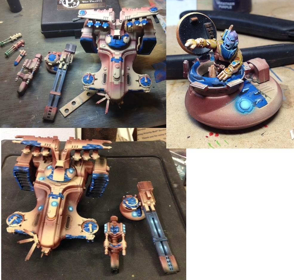 Hammerhead, Skyray, Tau, Warhammer 40,000