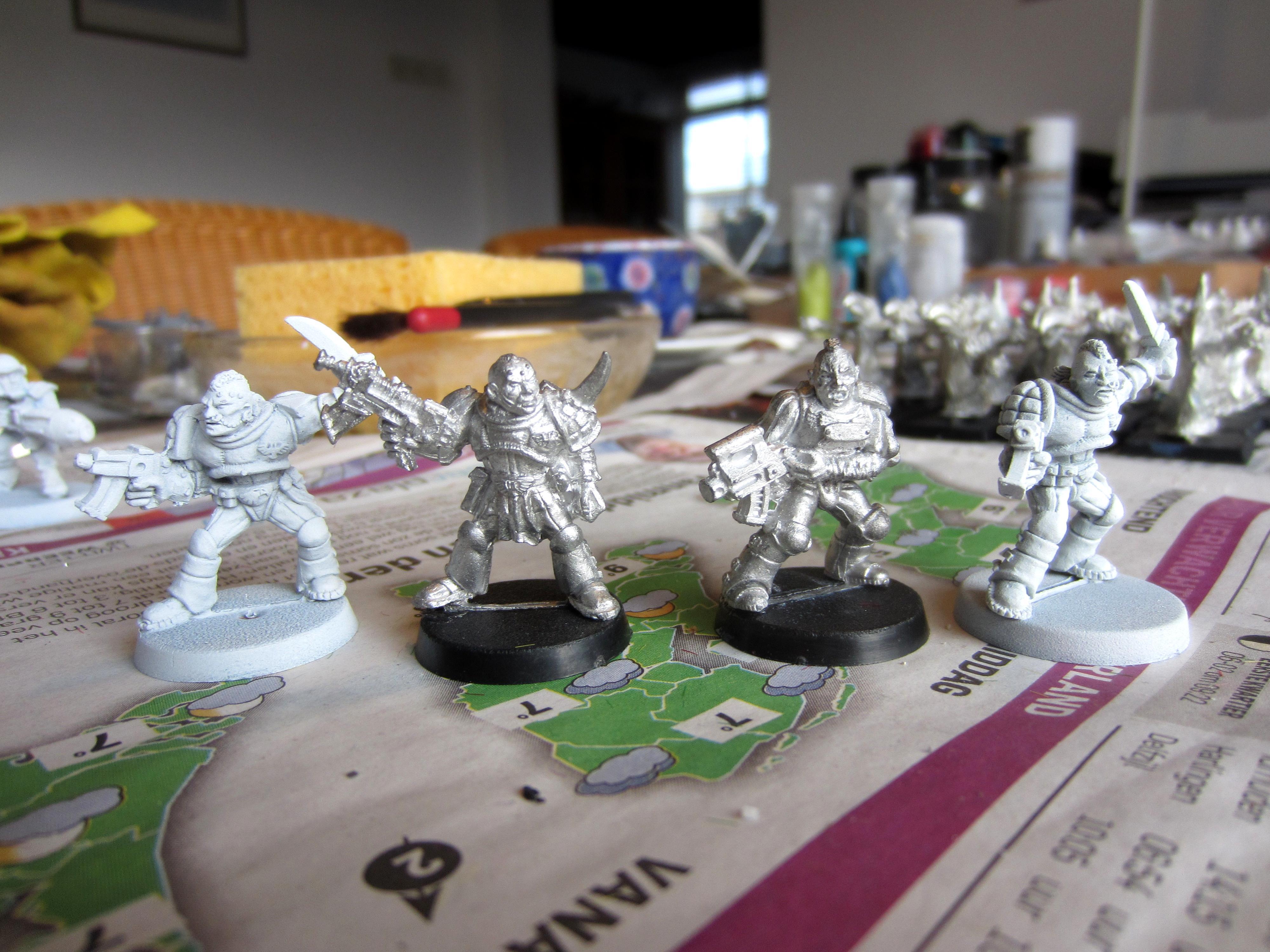 Henchmen, Inquisition, Plasma, Warrior Acolytes, Work In Progress