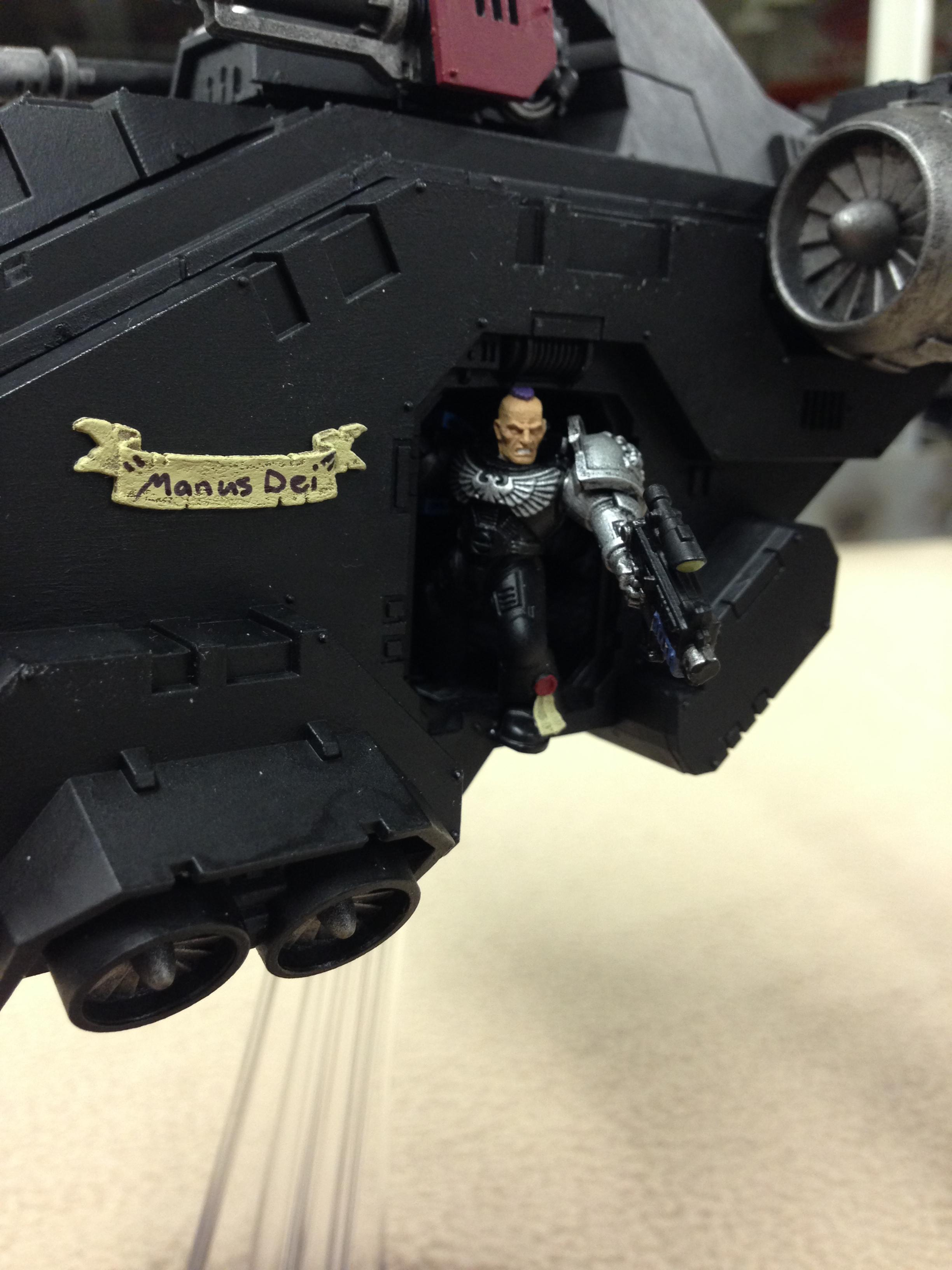 Deathwatch, Flyer, Space Marines, Stormraven