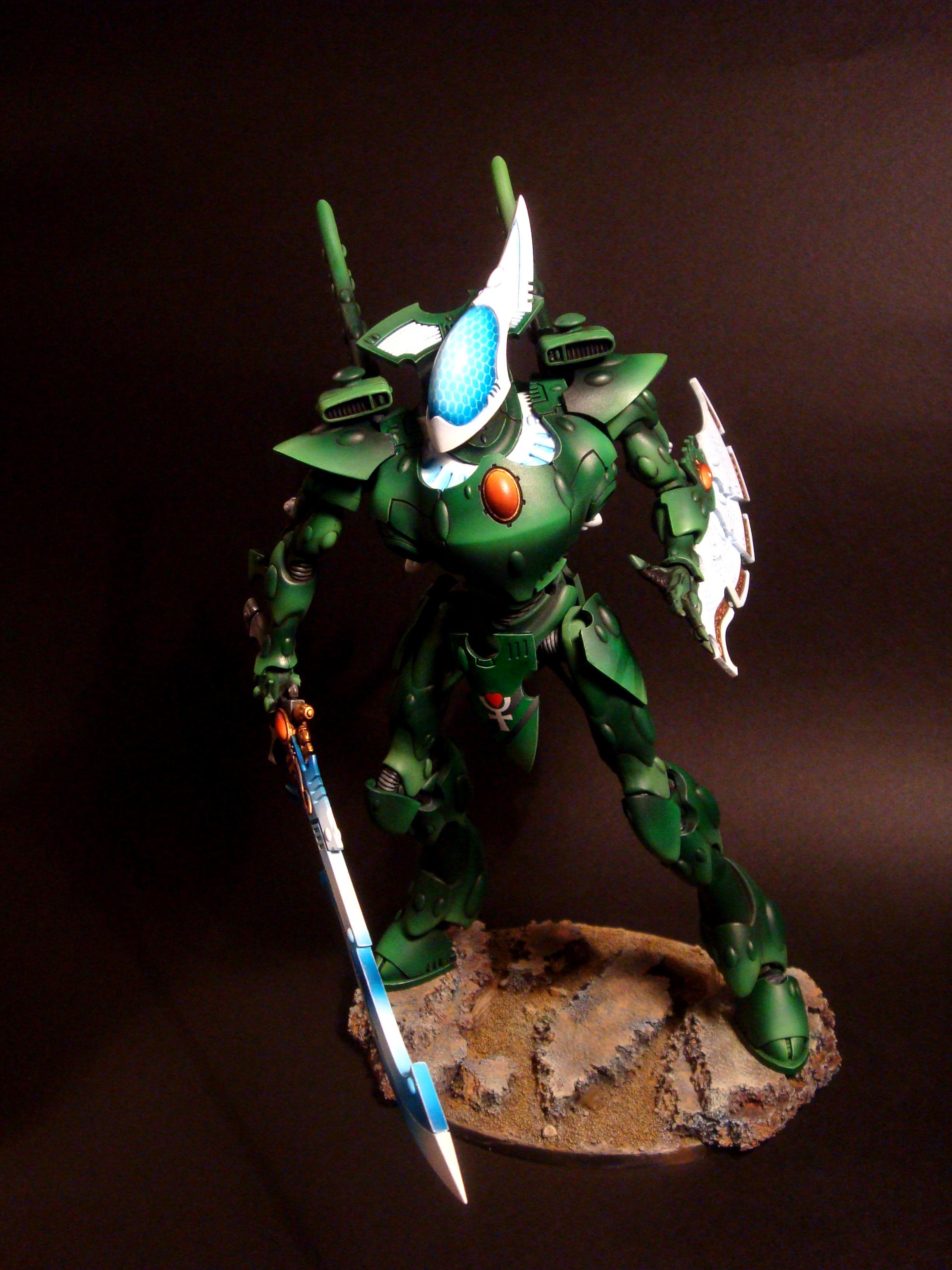 Biel Tan, Eldar, Warhammer 40,000, Wraithknight