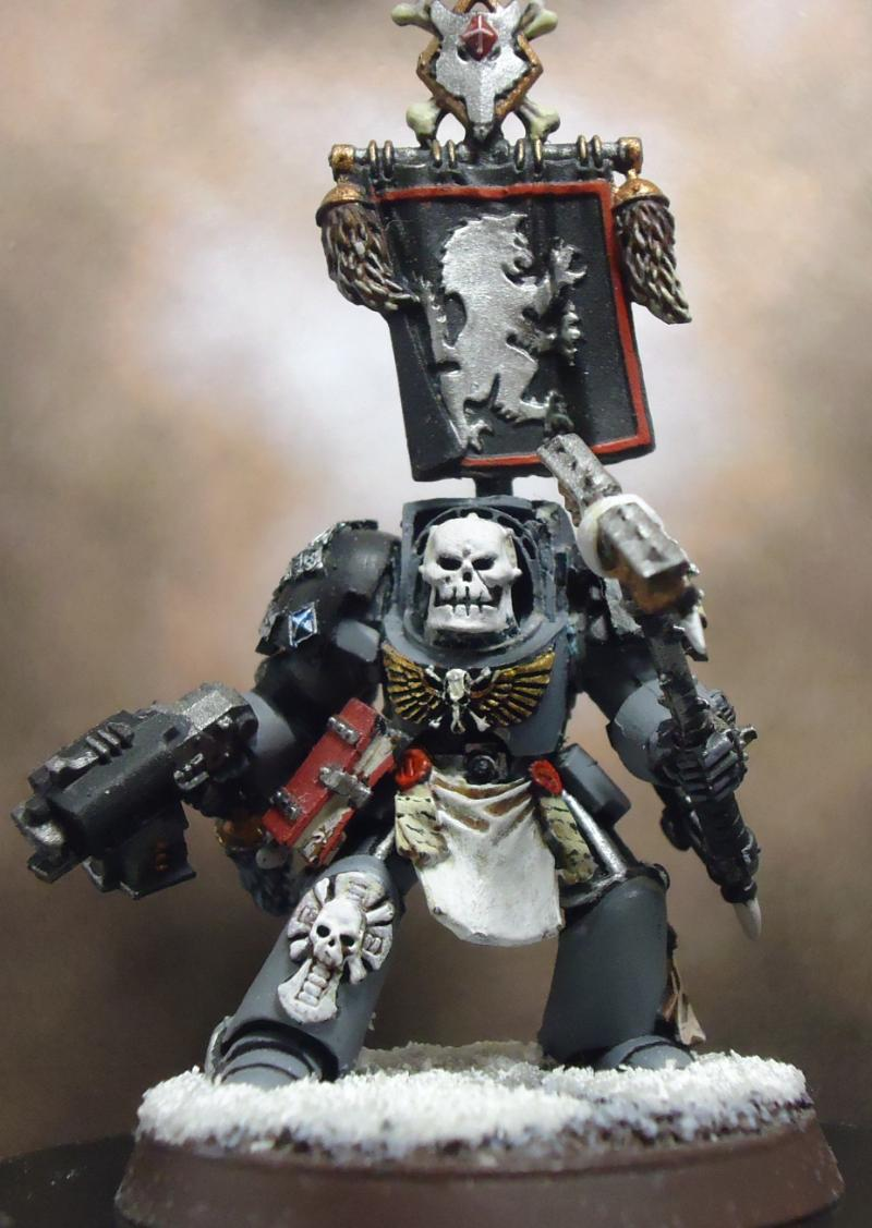 Conversion space marines space wolves terminator armor wolf priest