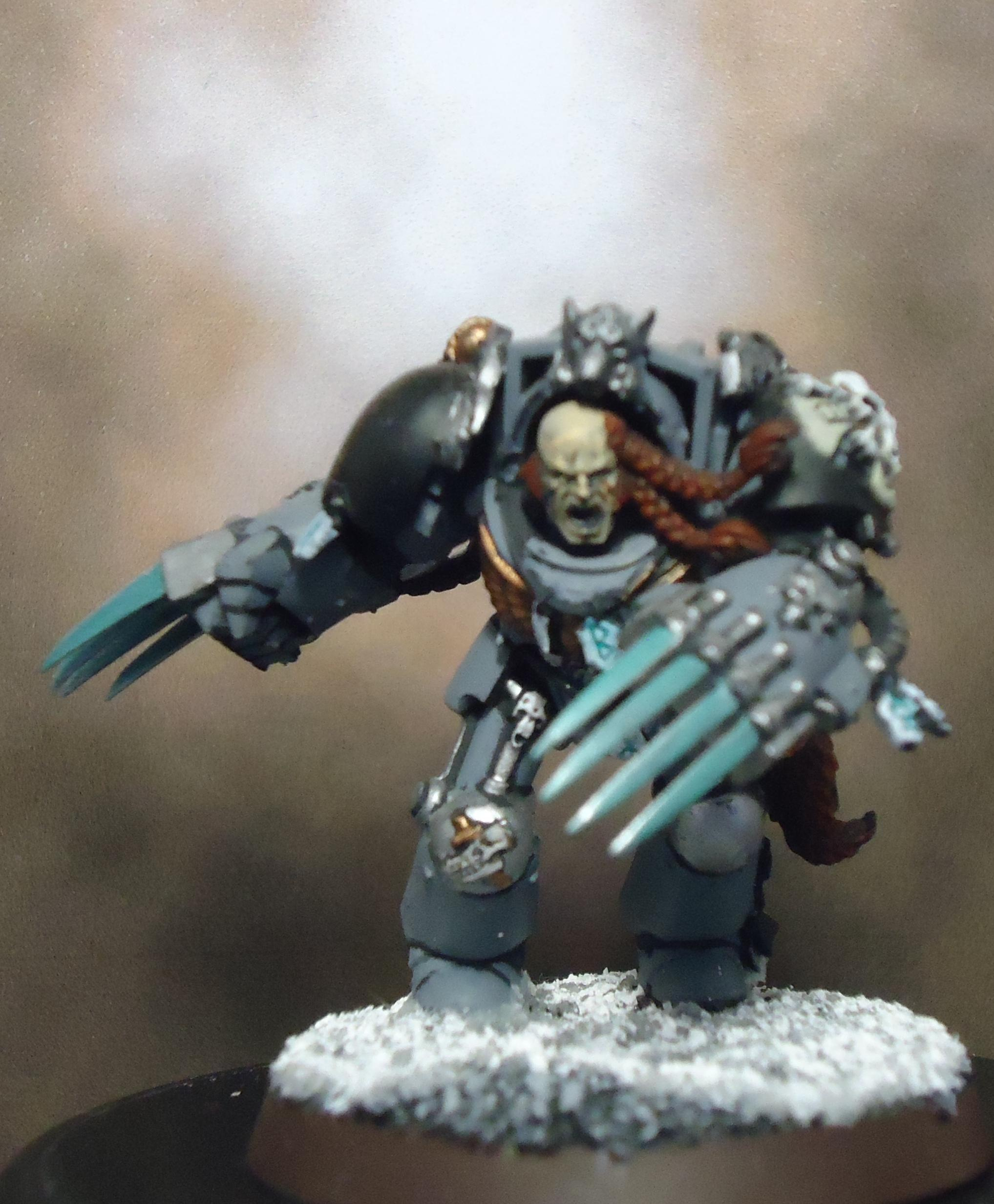Space Marines, Space Wolves, Terminator Armor, Wolf Claws, Wolf Guard