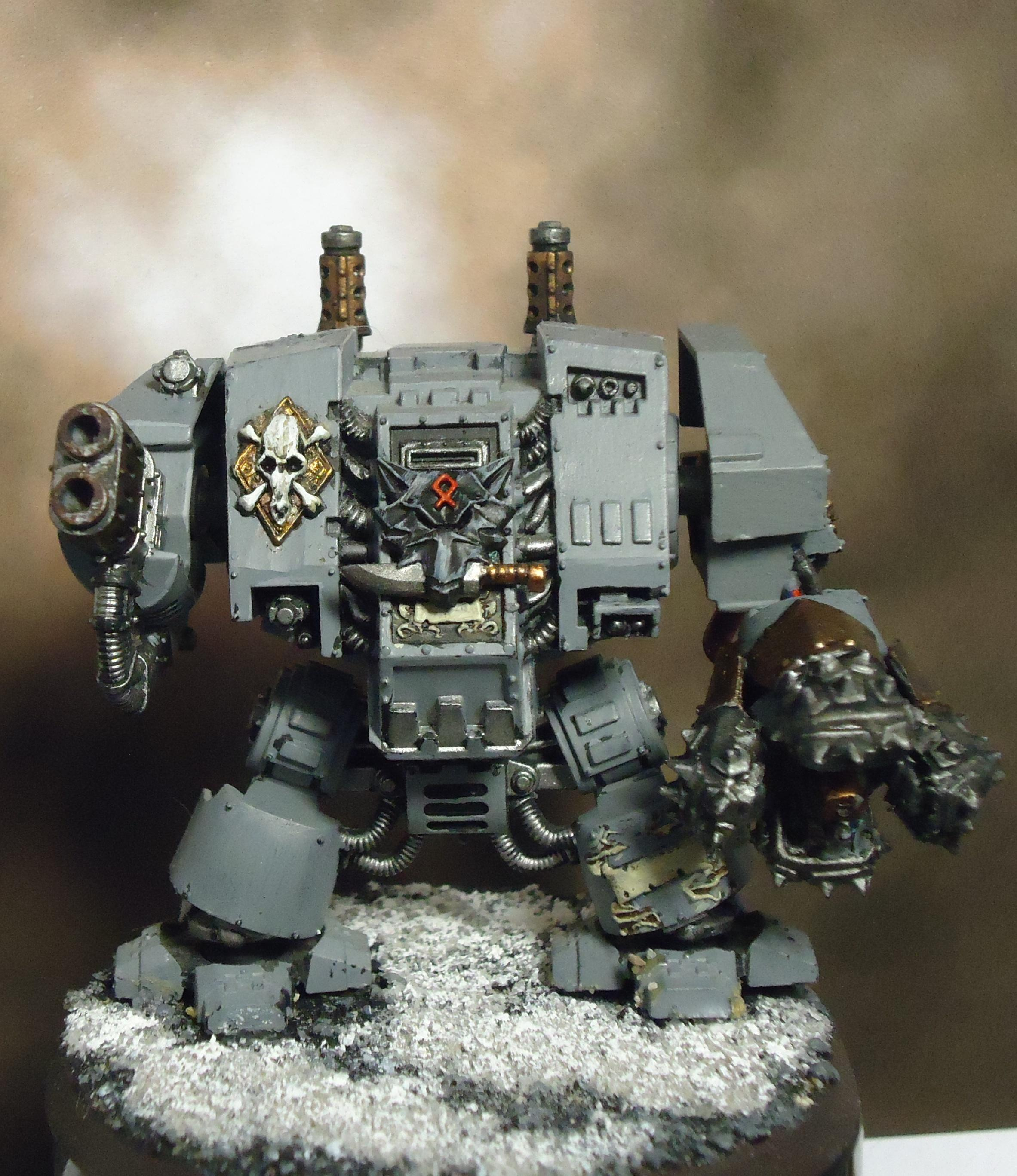 Dreadnought, Multi Melta, Space Marines, Space Wolves
