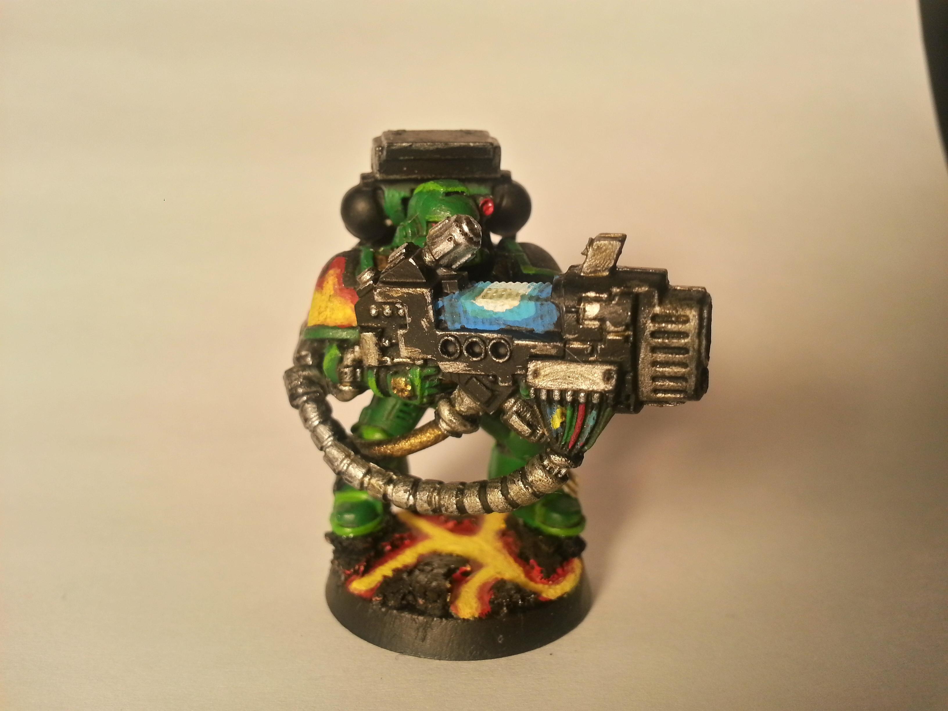 Devistator, Salamanders