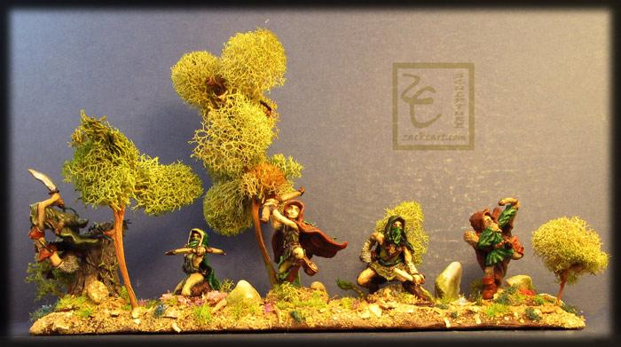 Elves, Scratch Build, Waywatcher, Wood