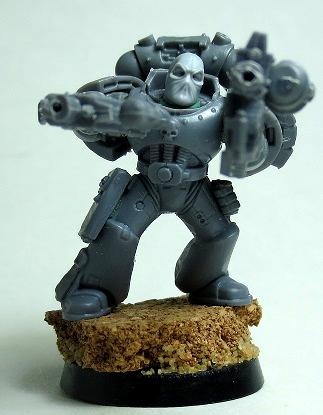 Balaklava, Deadpool, Mad Robot Miniatures, Space Marines
