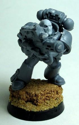 Balaklava, Deadpool, Mad Robot Miniatures, Space Marines