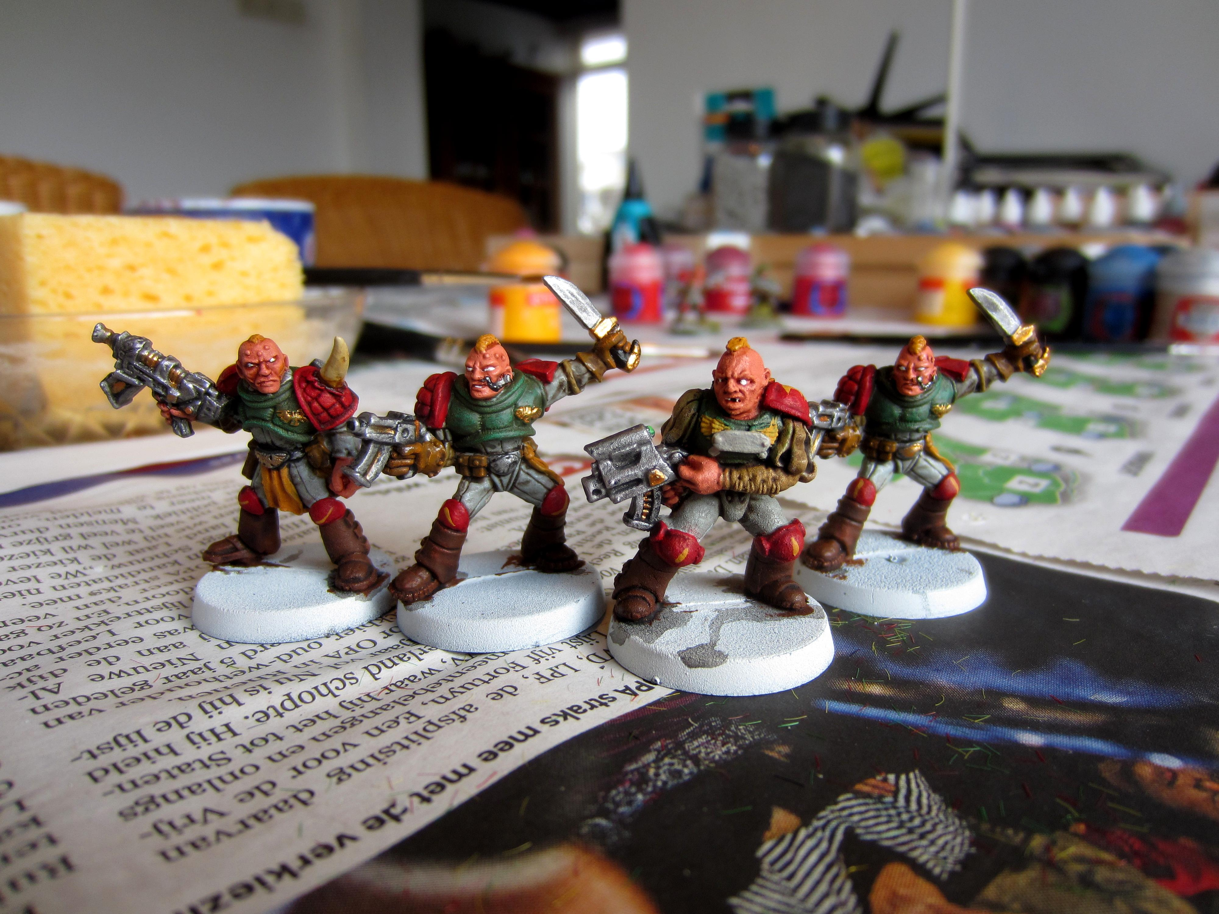 Henchmen, Inquisition, Rogue Trader, Scouts, Warrior Acolytes