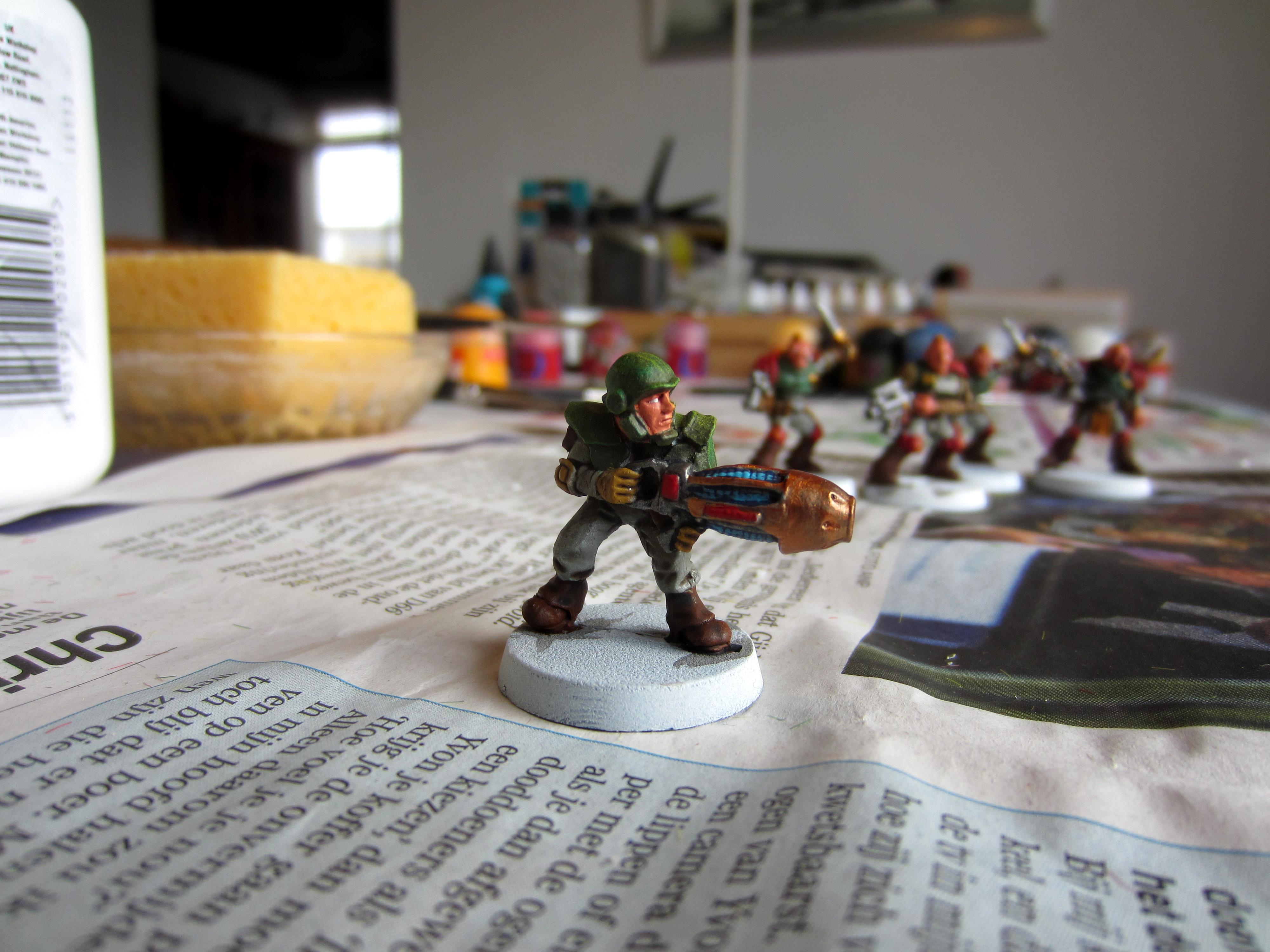 Henchmen, Imperial Army, Inquisition, Plasma, Rogue Trader, Warrior Acolyte