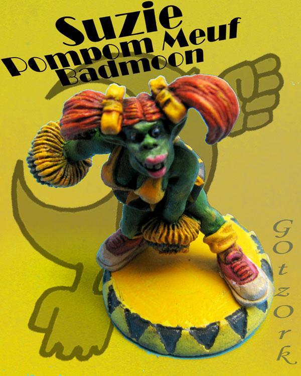 Conversion, Gotzork, Miniature, Orc Female, Ork Femal, Orks