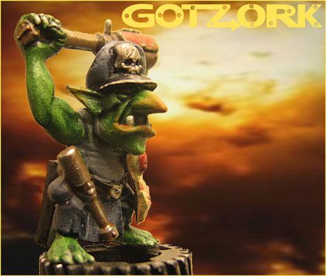 Conversion, Gotzork, Gretchin, Miniature, Orcs, Orks