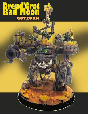 Conversion, Dreadnought, Gotzork, Killa Kans, Machine, Miniature, Orcs, Orks