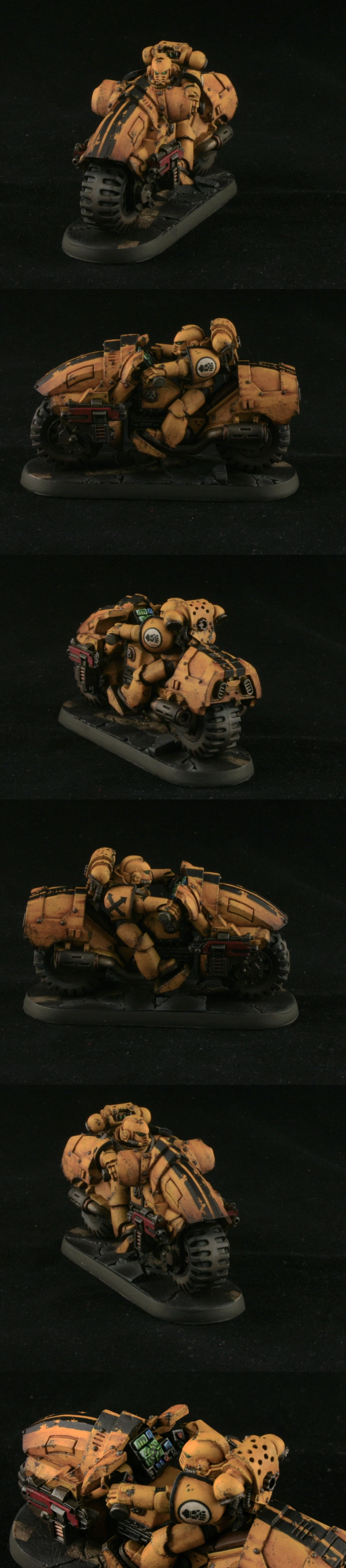 Bike, Forge World, Imperial Fists, Mk Iv