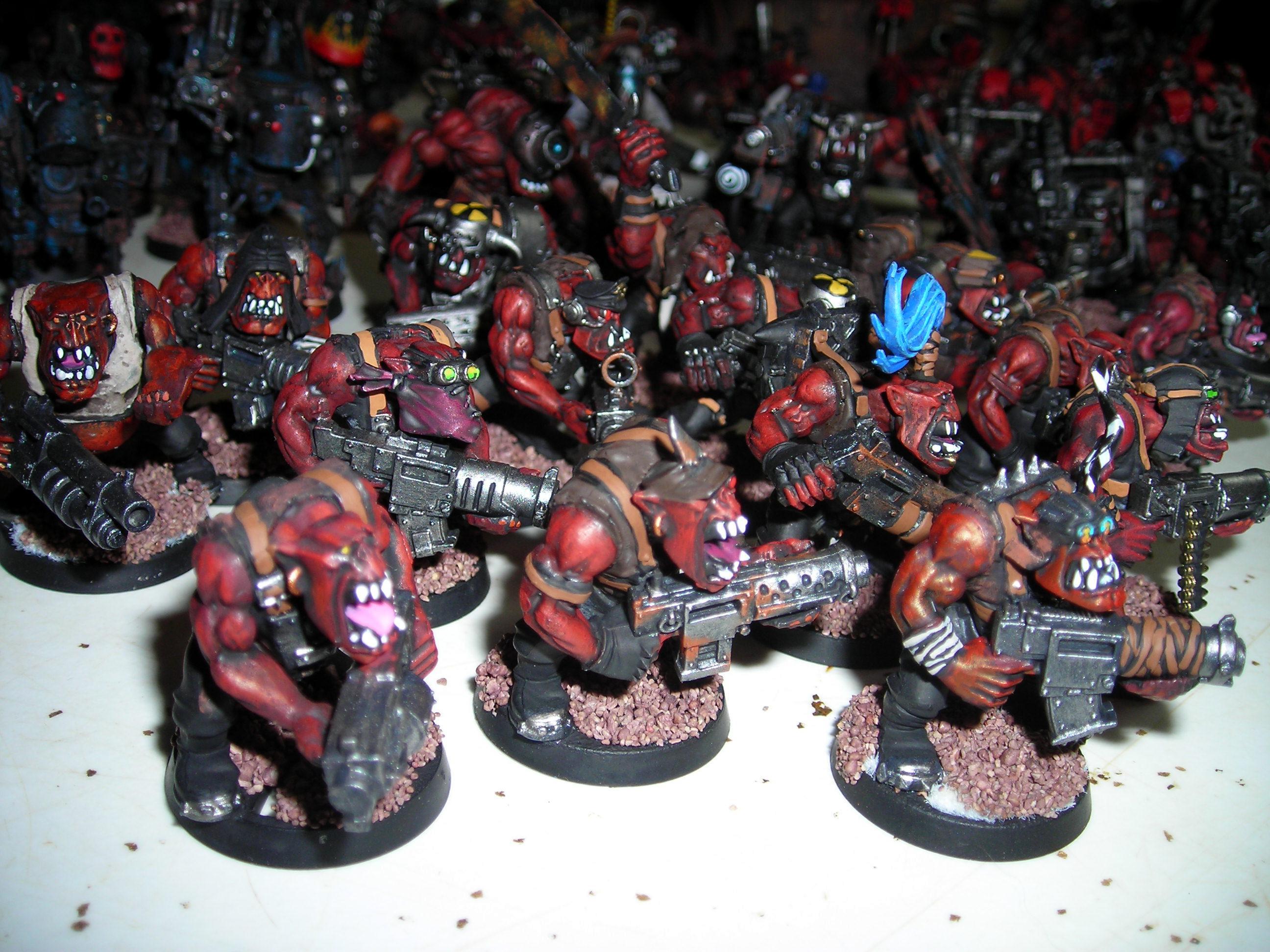 Red Orks, red orks
