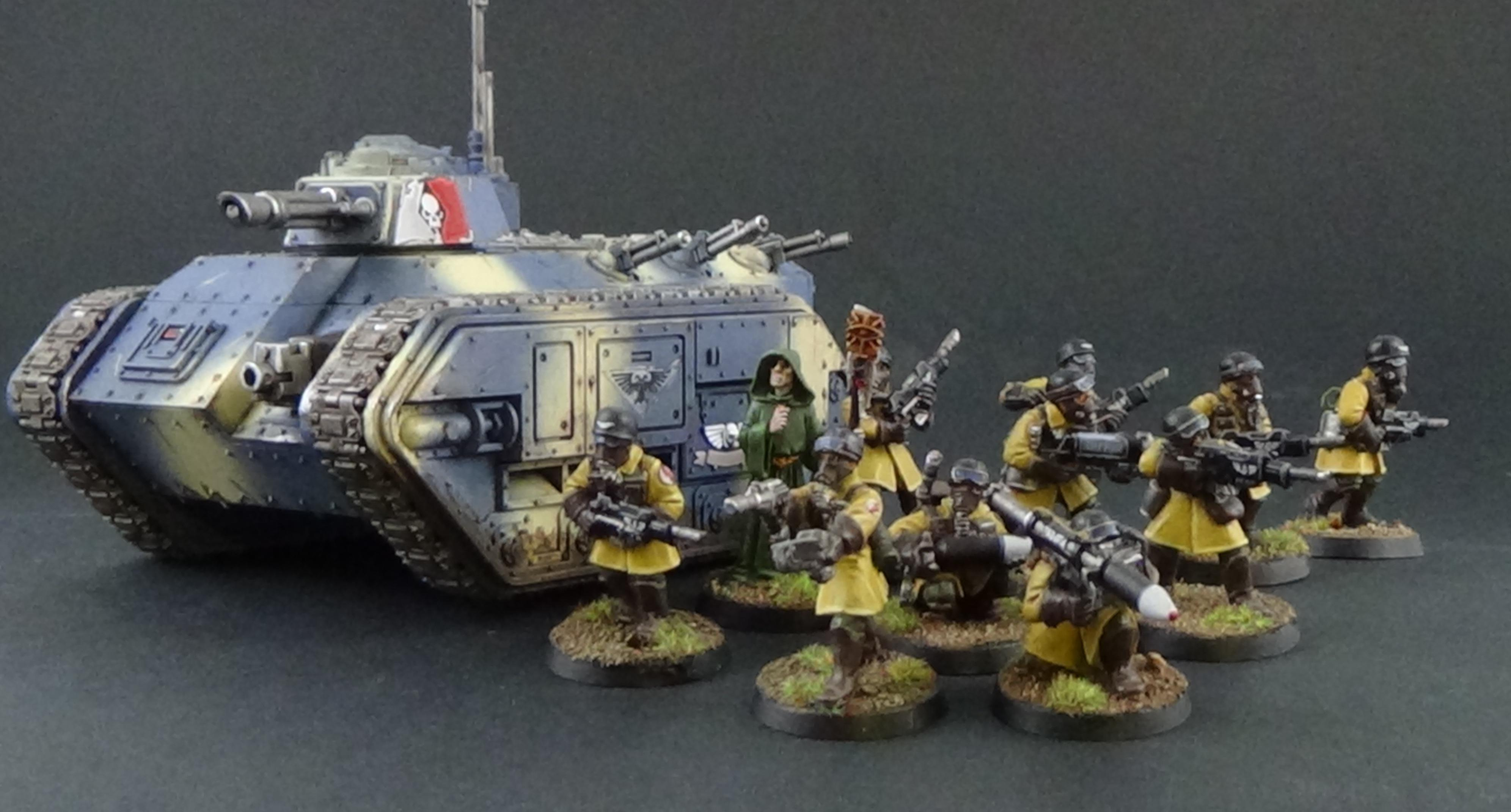 Imperial Guard, Steel Legion, Warhammer 40,000