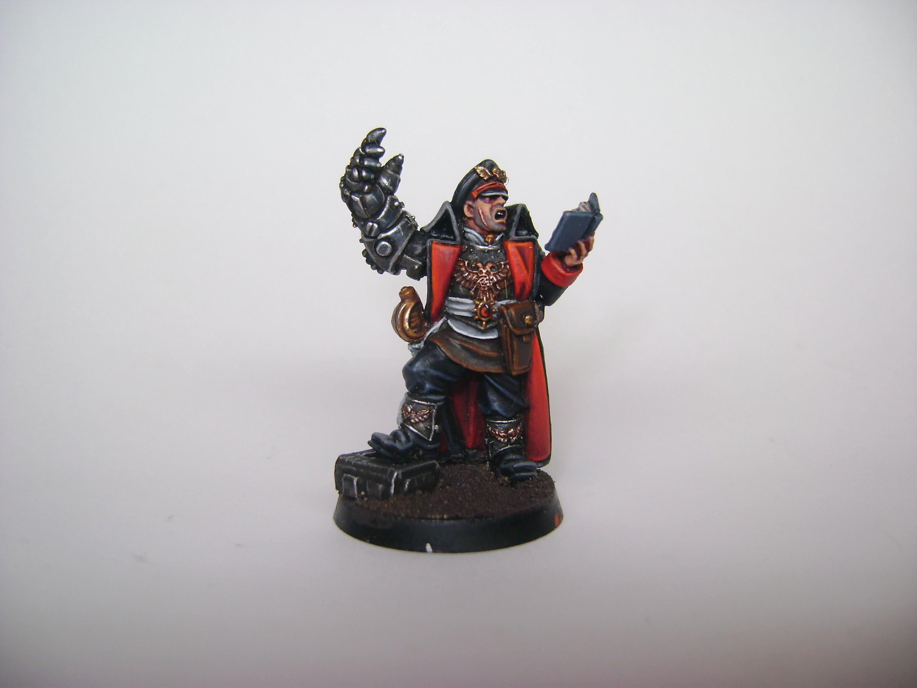 My Cadian Reg. commissar front