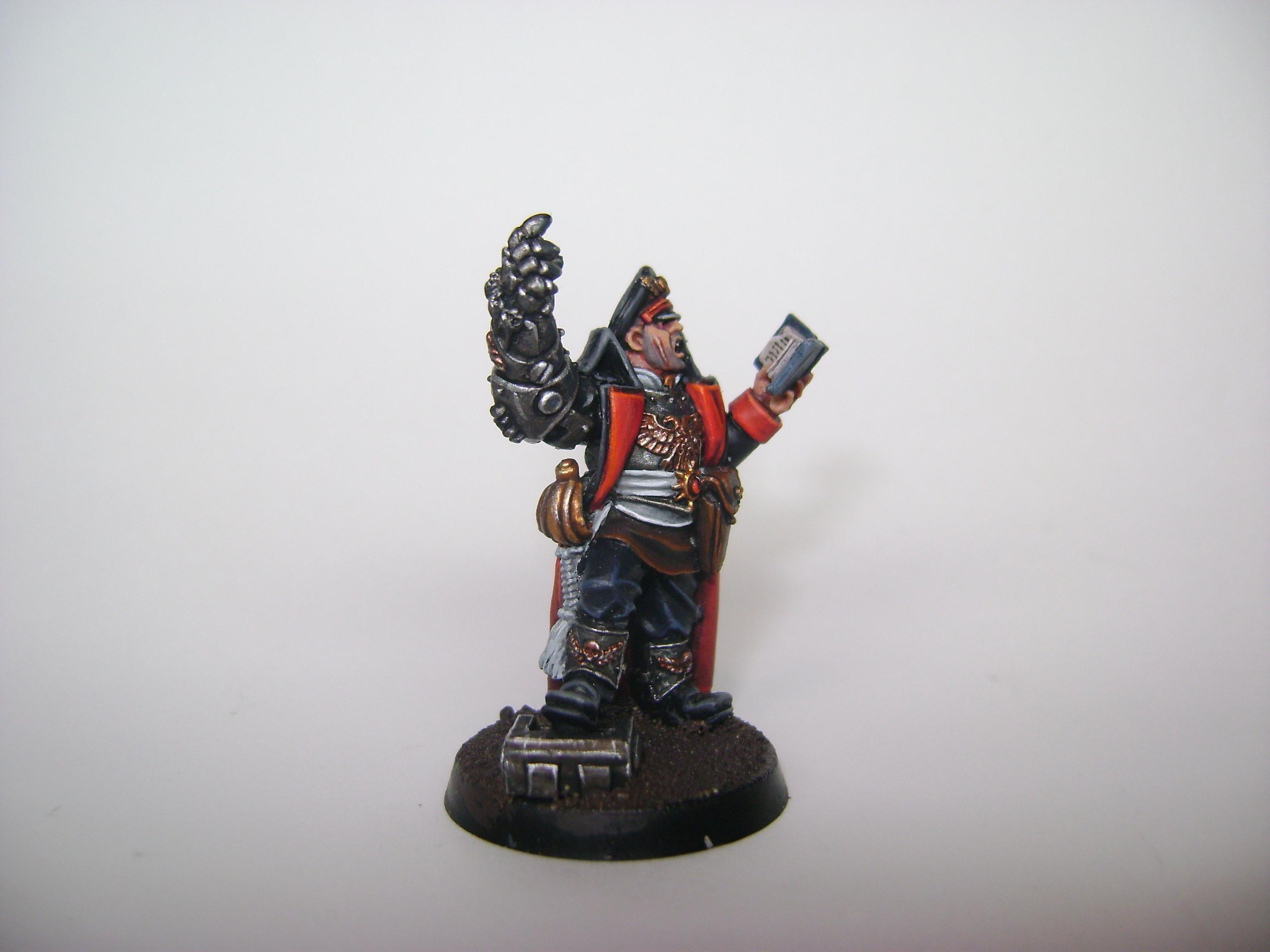 My Cadian Reg. commissar side