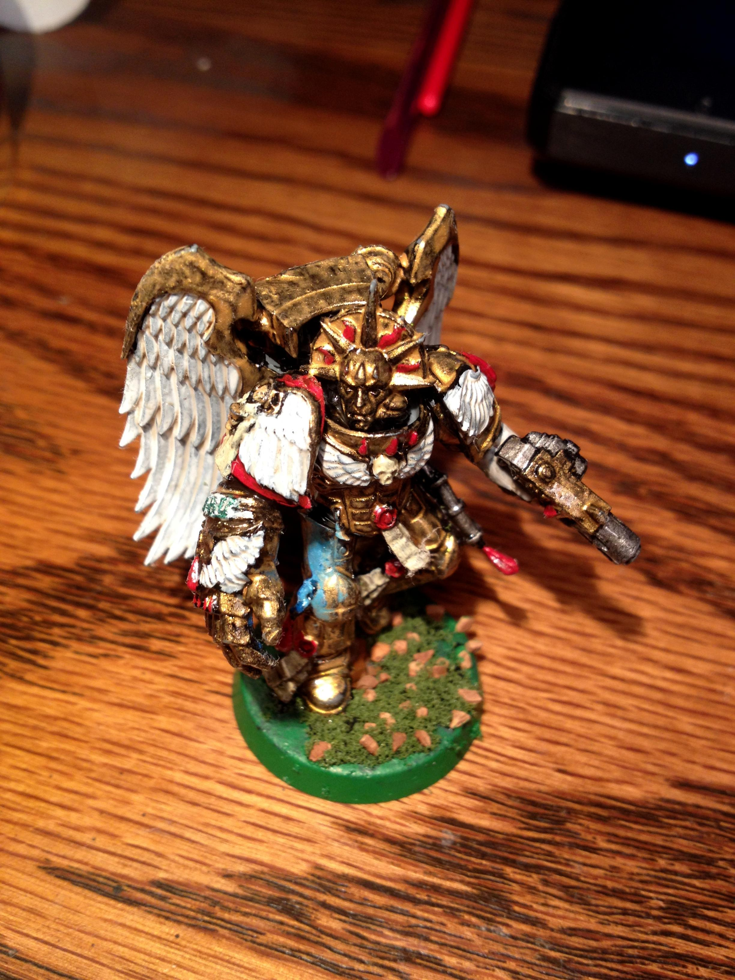 Blood Angels, Death Mask, Object Source Lighting, Power Fist, Sanguinary Angels