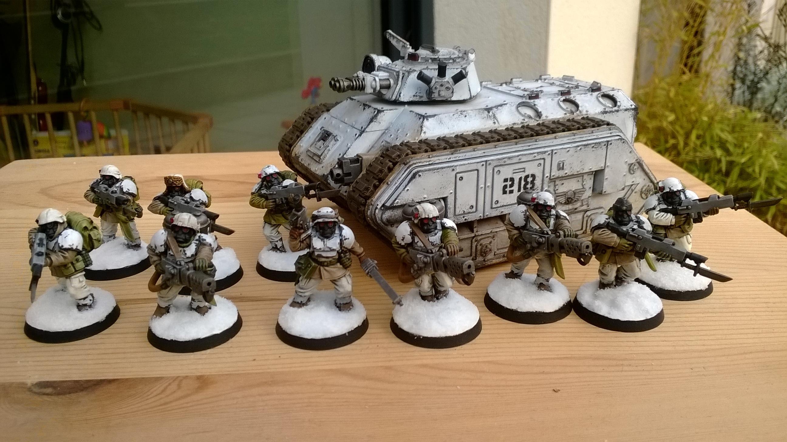 Astra Militarun, Veteran, Winter