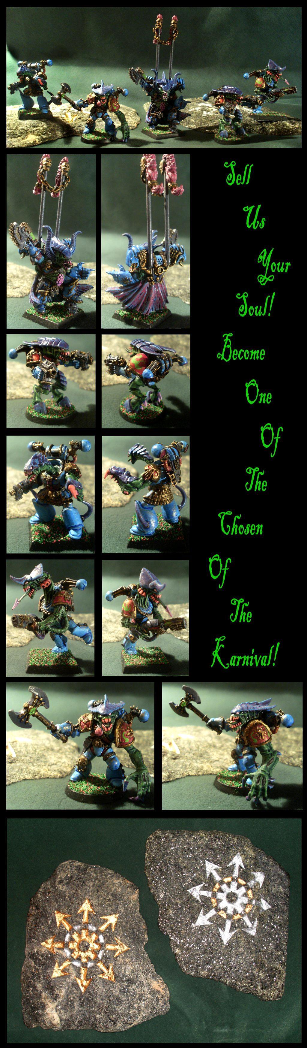 Chaos Space Marines, Chosen, Mutant