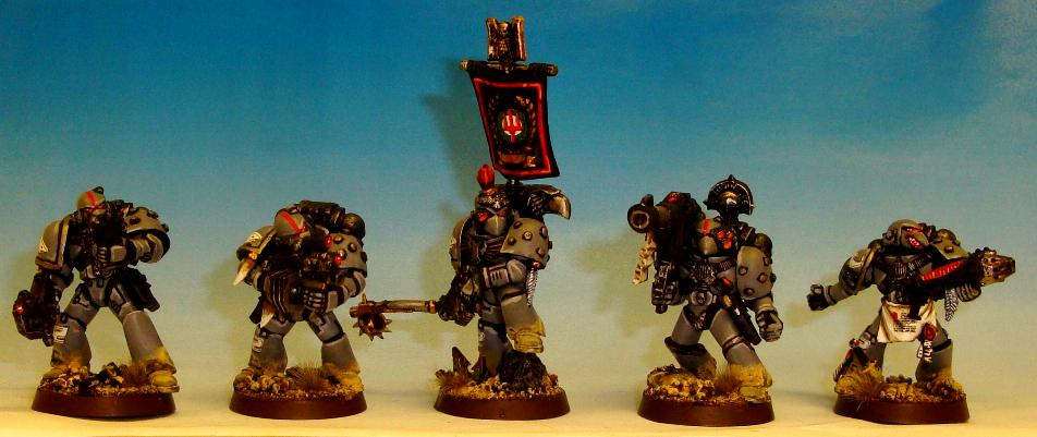Carcharodons, Space Marines, Space Sharks, Tactical