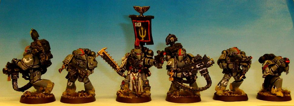 Carcharodons, Devastator, Heavy Weapon, Space Marines, Space Sharks