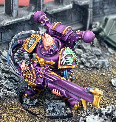 Chaos Space Marines, Noise Marines, Sonic Weapon