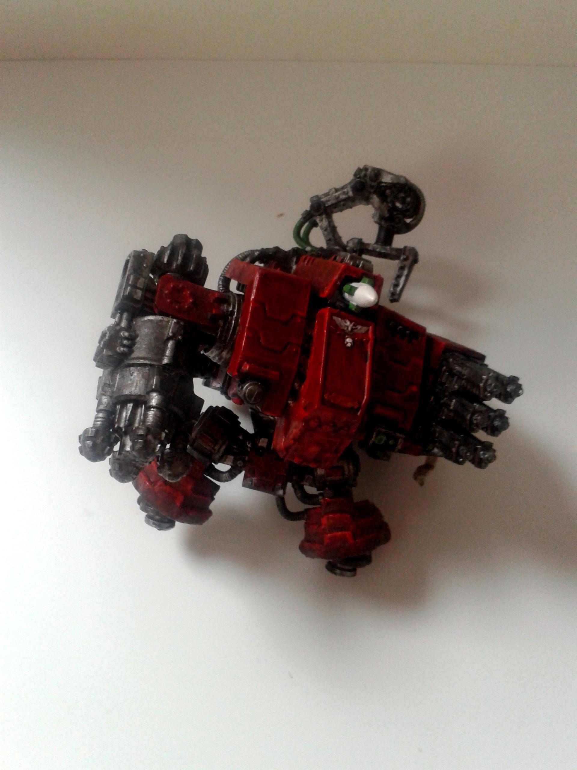 Adeptus Mechanicus, Conversion, Iron Hands, Space Marines