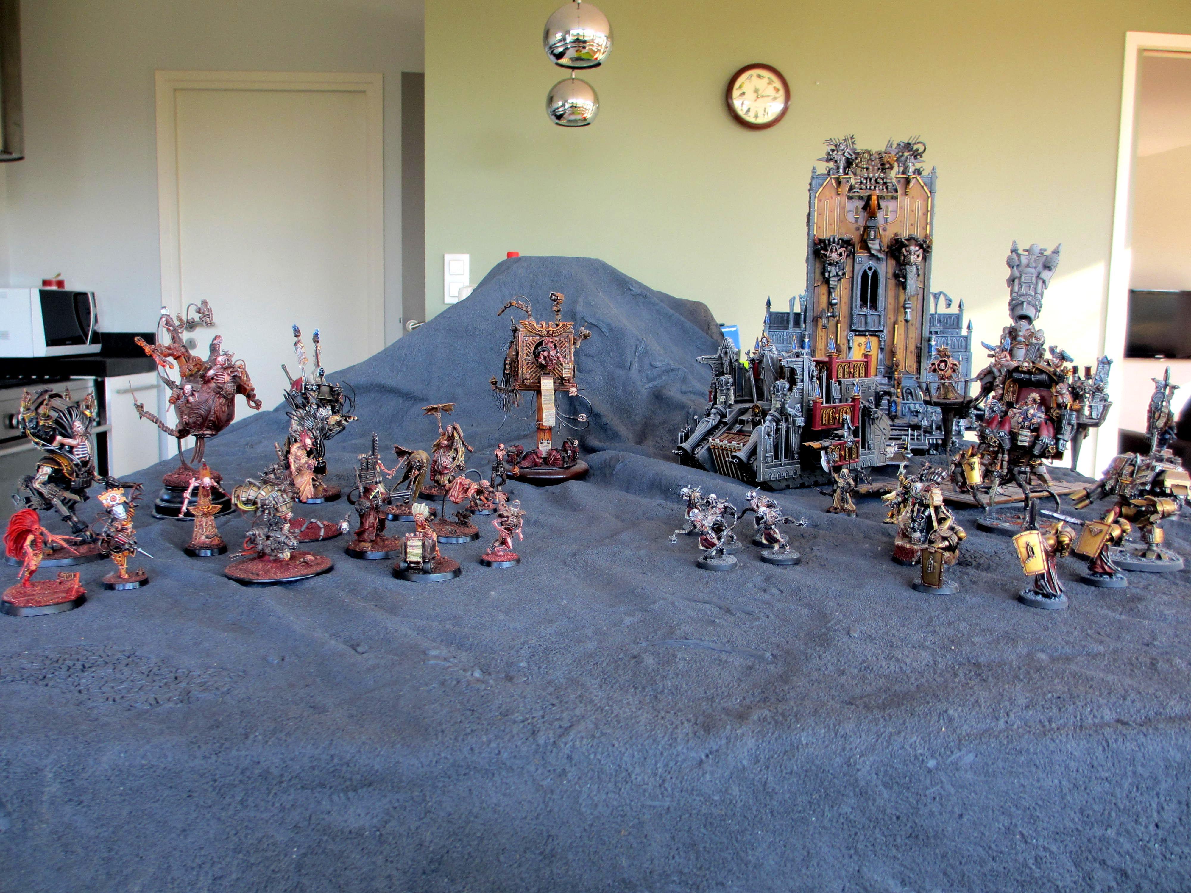 Deimos, Emperor, Heresy, Mars, Mechanicus, Meeting, Warhammer 40,000