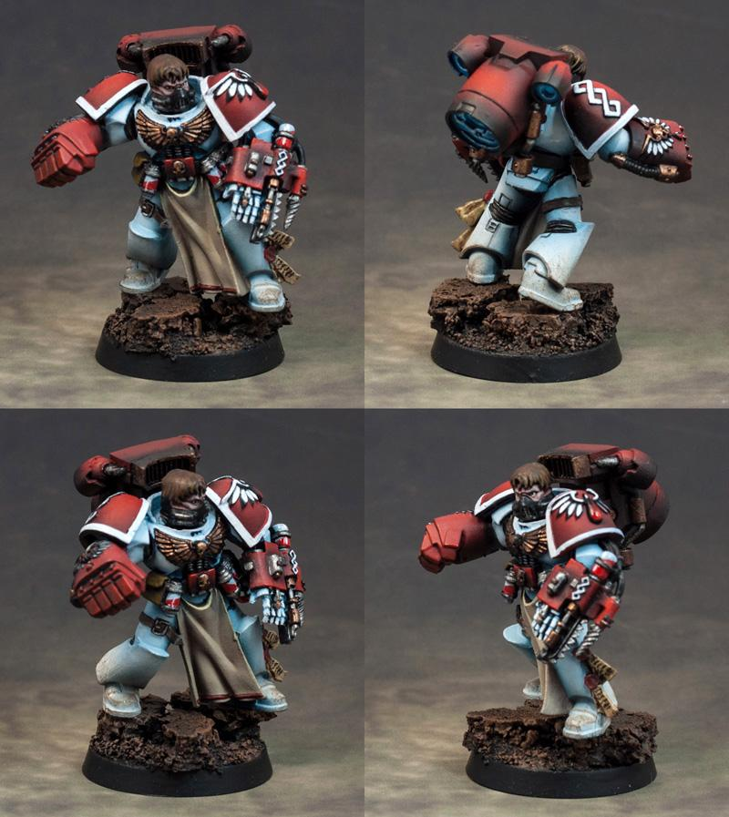 Apothecary, Blood Angels, Sanguinary Priest, Warhammer 40,000