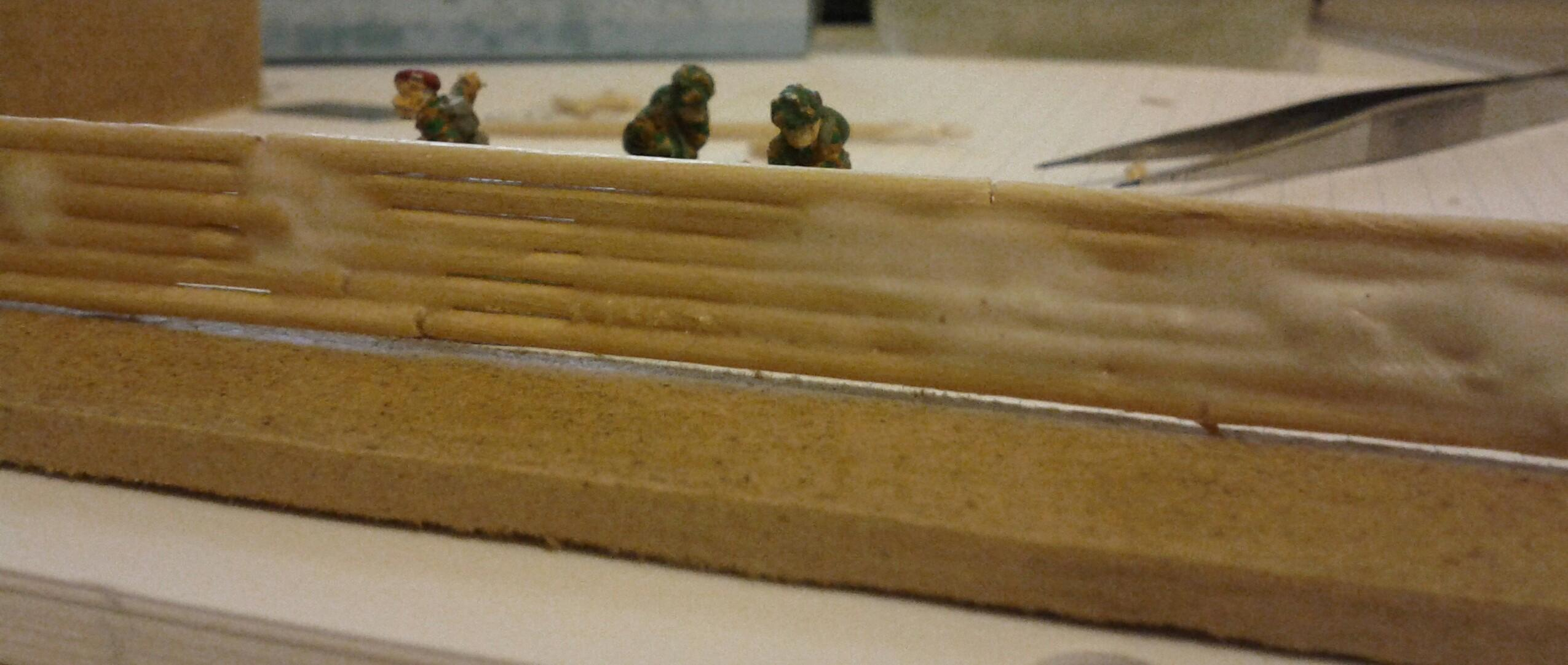 15mm, Bunker, Finns, Flames Of War, Trench, Trenches