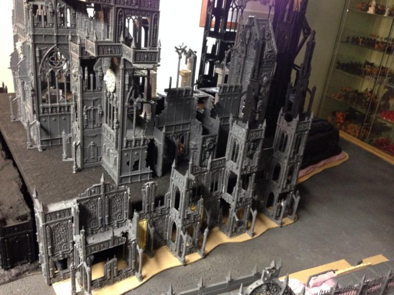 Aquila, Buildings, Cathedral, Game Table, Imperial, Large, Shrine, Terrain