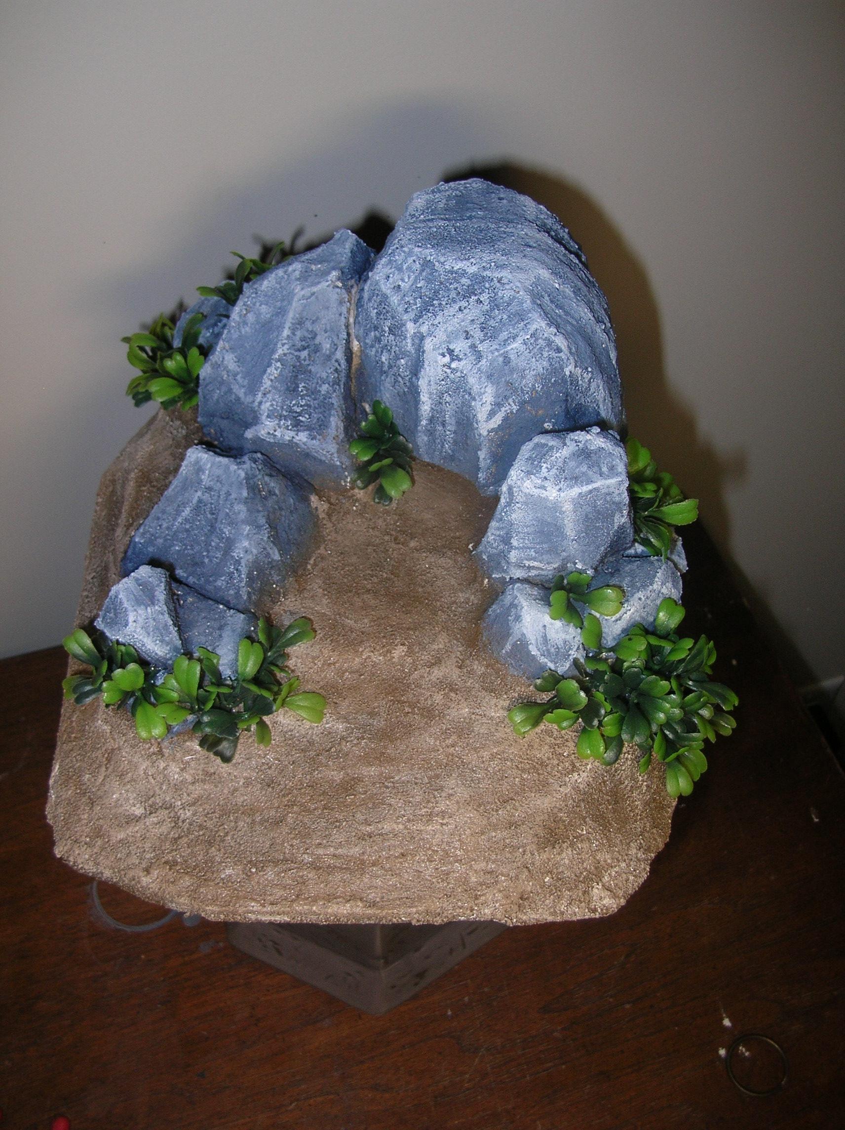 Rocks, Terrain, Simple Rock Terrain