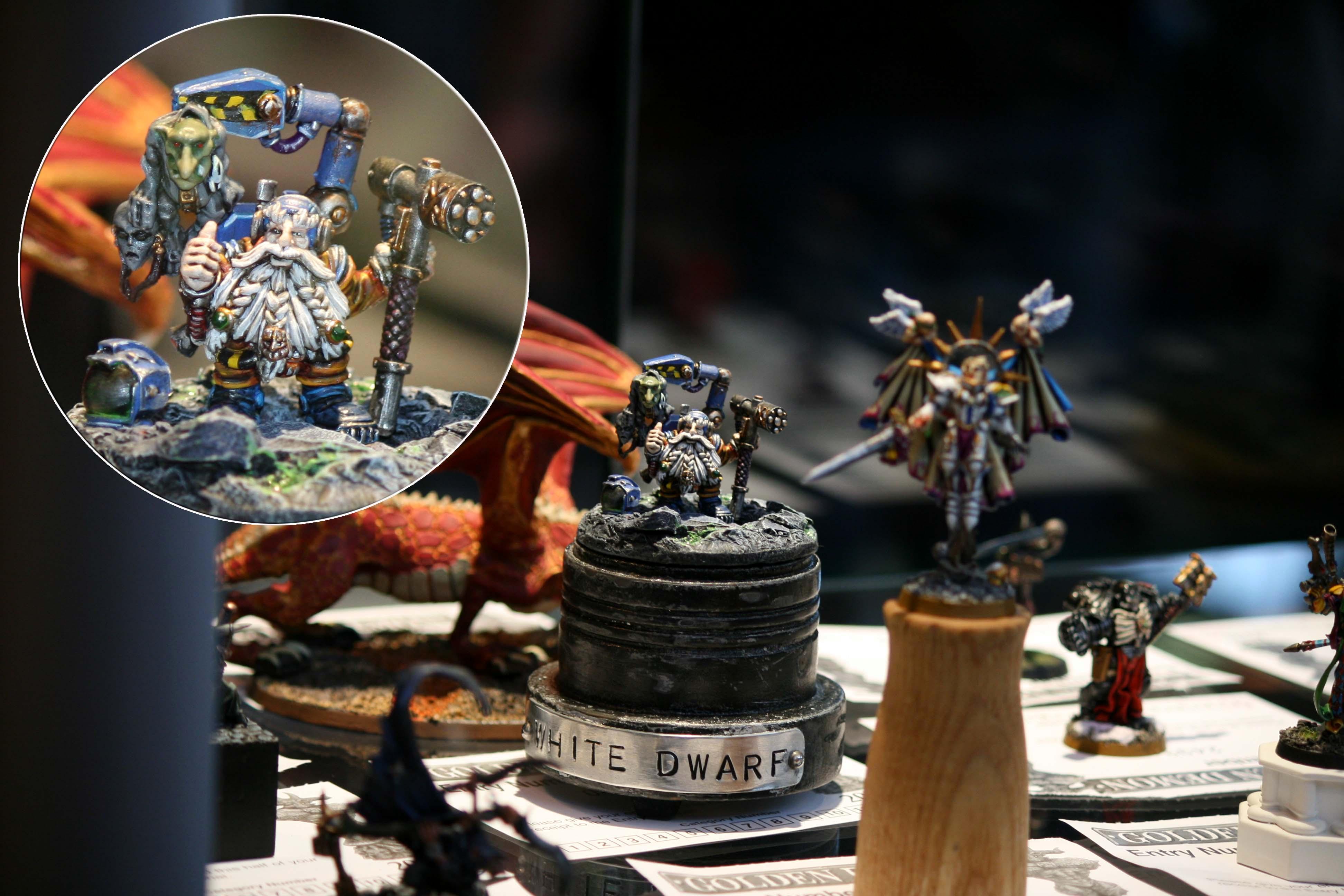Golden Demon 2010, Gretchin, Moon Base, Space, Space Dwarf, Warhammer 40,000, Warhammer Fantasy, White Dwarf