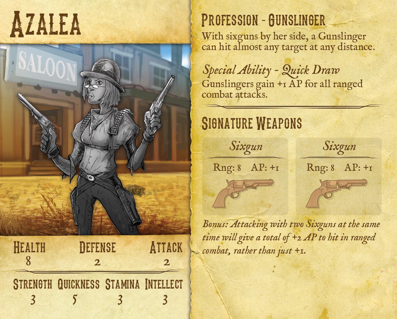 Azalea Hero Card test