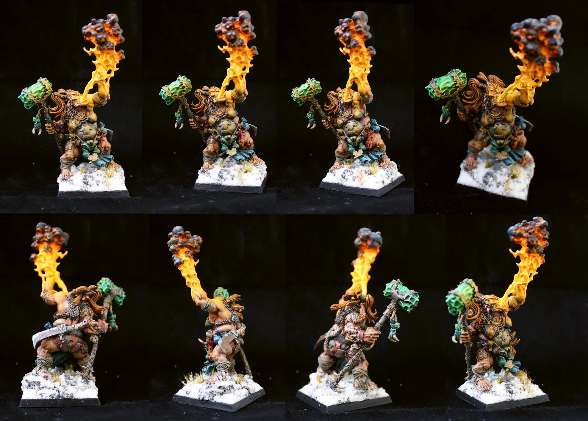 Firebelly, Ogres, Ogre firebelly female version finished (2014)