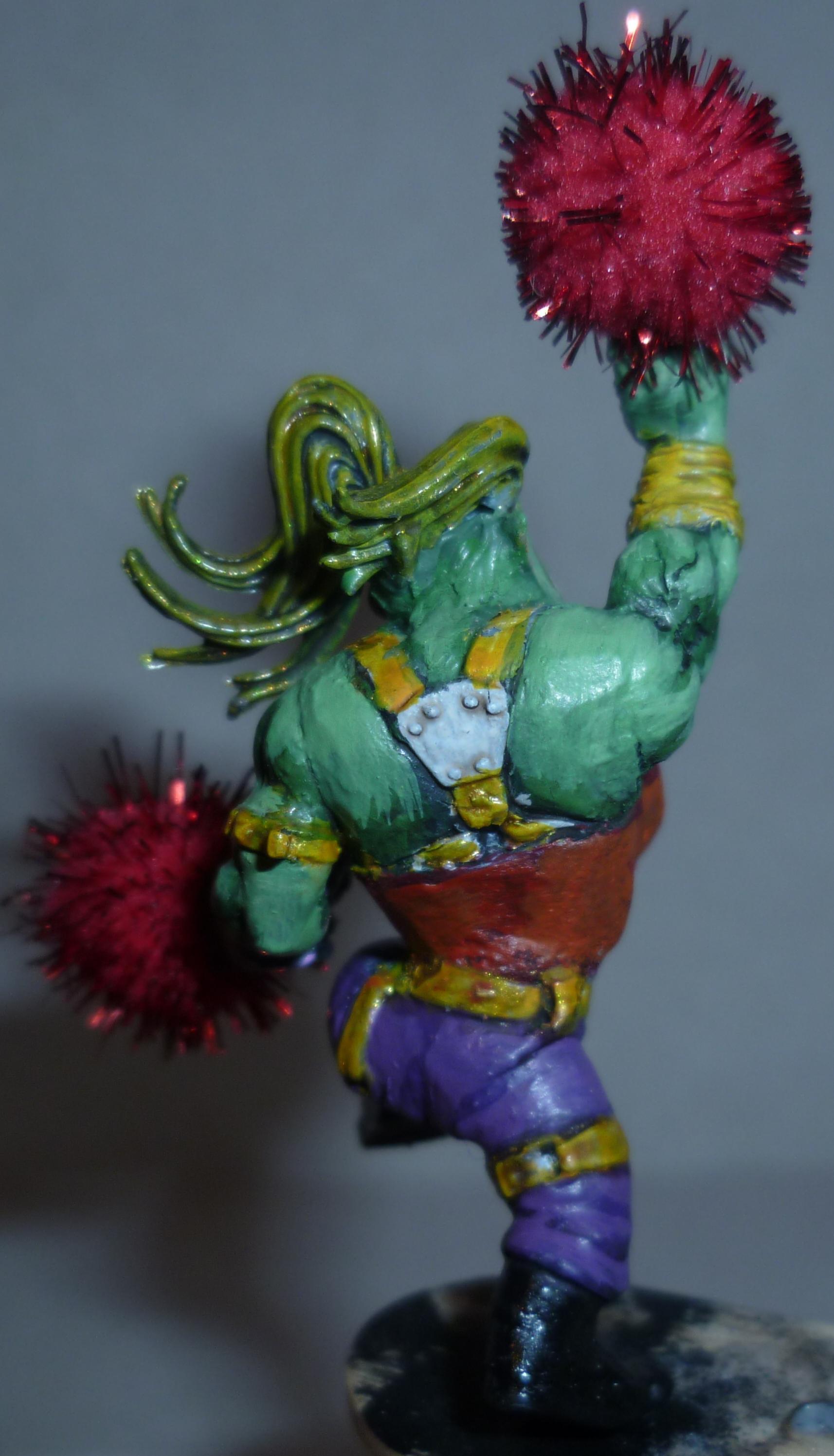 Ork Cheerleader, Ork Cheerleader