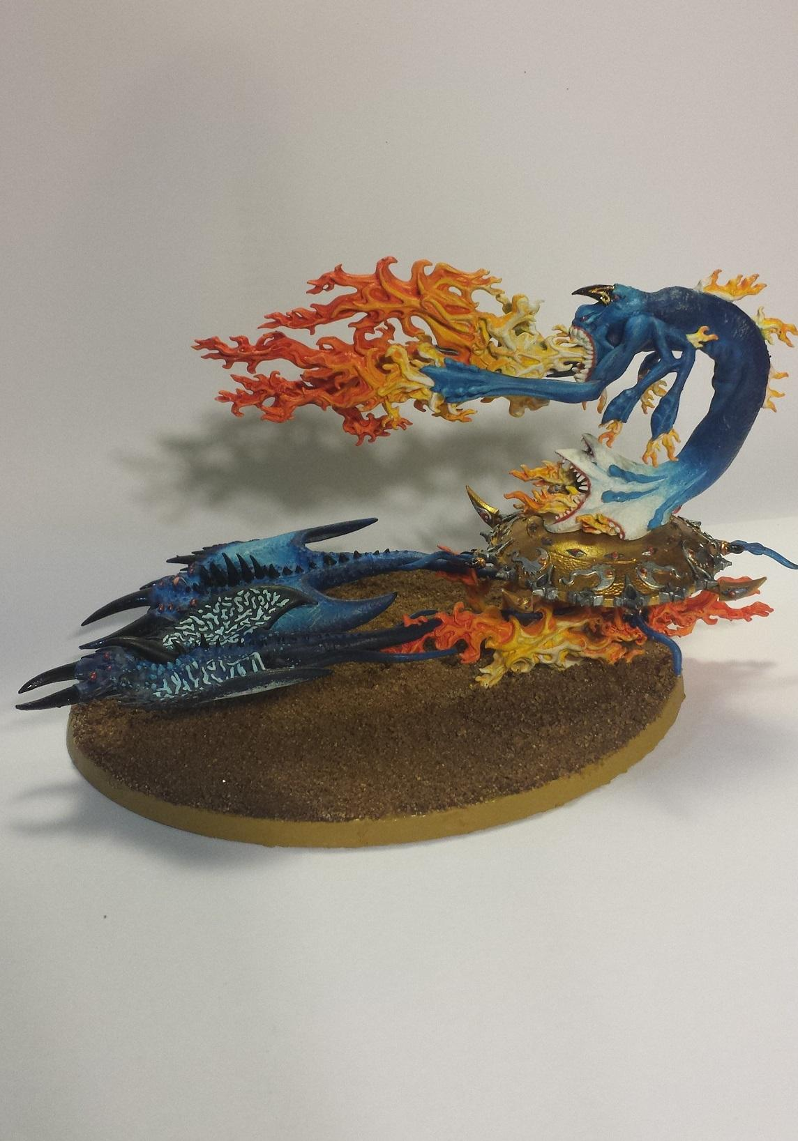 Burning Chariot, Chaos, Flamers, Screamers, Tzeentch