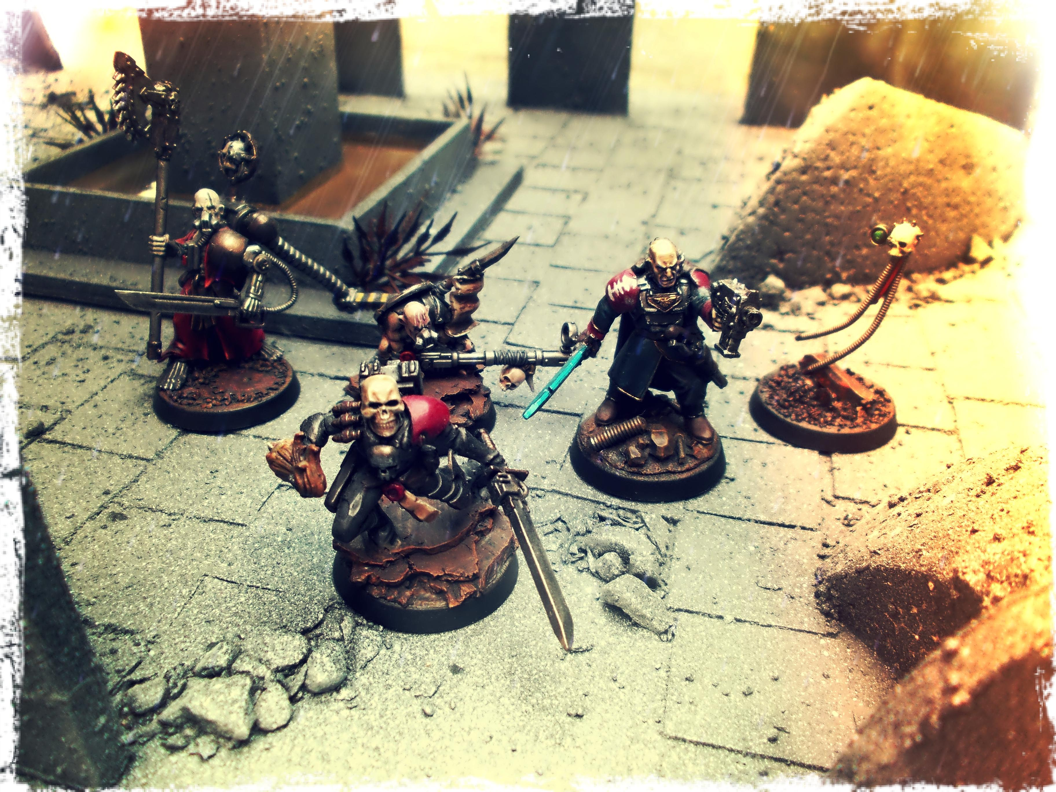 Conversion, Inq28, Inquisimunda, Inquisitor, Inquisitor 28, Inquisitor Antrecht, Kitbash, Ordo Malleus, Retinue, Warband, Warhammer 40,000